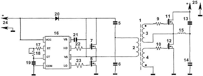Induction heating device