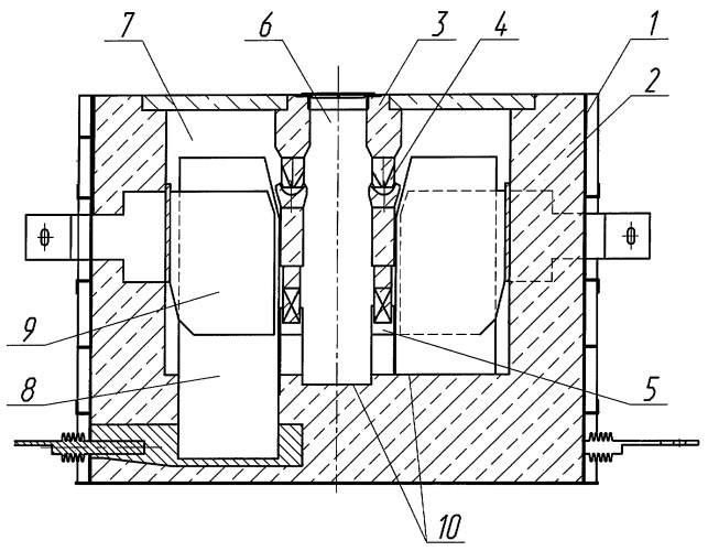 Bottom-anode electrolytic furnace for production of