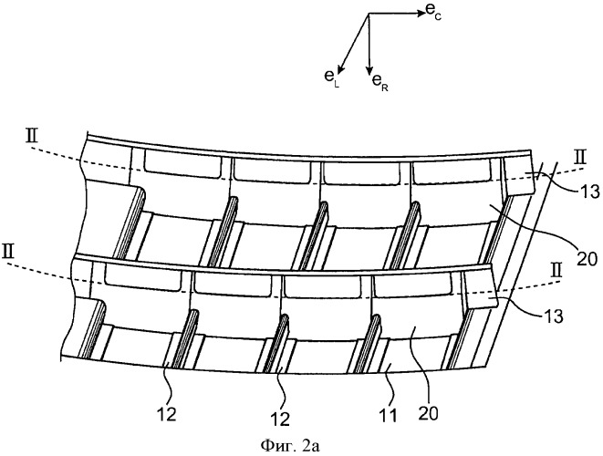 Aircraft fuselage of composite and aircraft with such fuselage