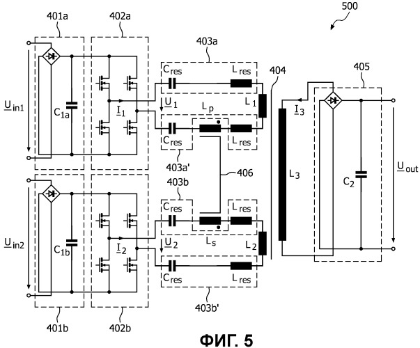 unit to control power inverter of dc conversion into ac of circuit of  resonant power converter, in particular, dc converter into dc for use in  circuits of