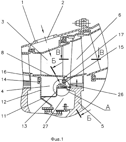 Device To Supply Cooling Air To Working Of Turbine Wheel